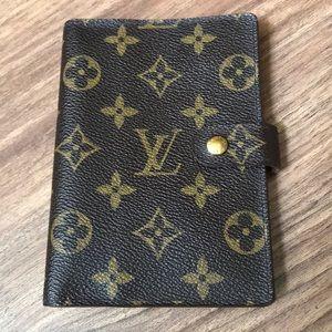 💯 % authentic Louis Vuitton Agenda Wallet